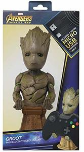 Cable Guy - Avengers: Infinity War Groot 20cm - Phone & Controller Holder - Cover