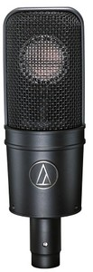 Audio Technica AT4040 Cardioid Condenser Microphone (Black) - Cover