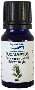 Crystal Aire - Eucalyptus Essential Oil (10ml) - Cover
