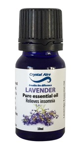 Crystal Aire - Lavender Essential Oil (10ml) - Cover