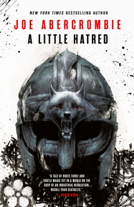 A Little Hatred - Joe Abercrombie (Hardcover) - Cover