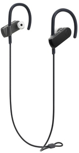 Audio Technica ATH-SPORT50BT SonicSport In-Ear Wireless Headphones (Black) - Cover