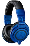 Audio Technica ATH-M50XBB M-Series Special Edition Over-Ear Professional Studio Monitoring Headphones (Blue)