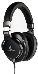 Audio Technica ATH-MSR7 High Resolution Over-Ear Headphones (Black) - Cover