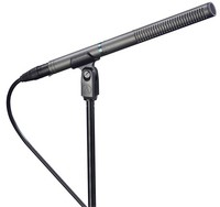 Audio Technica AT897 279mm Short Line and Gradient Shotgun Microphone (Black) - Cover
