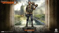 Tom Clancy's - The Division 2: Brian Johnson Figurine 25cm - Cover