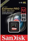 Sandisk Extreme PRO 64 GB SDXC Class 10 UHS-I Memory Card