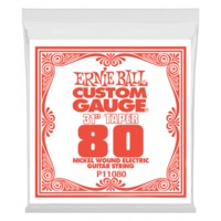 Ernie Ball 11080 .080 Long Scale Nickel Wound Electric Guitar String - Cover