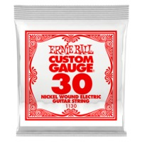 Ernie Ball 1130 .030 Nickel Wound Electric Guitar Single String - Cover