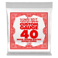 Ernie Ball 1140 .040 Nickel Wound Electric Guitar Single String - Cover
