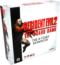 Resident Evil 2: The Board Game - B-Files Expansion (Board Game) - Cover