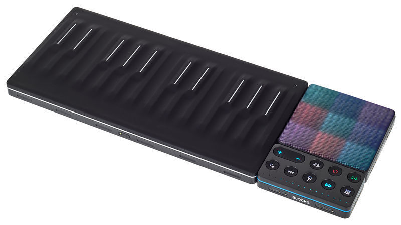 Roli Songmaker Kit 24 Key USB Touch Keyboard Controller and Pad Controller  (Black)
