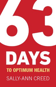 63 Days to Optimum Health - Sally-Ann Creed (Paperback) - Cover