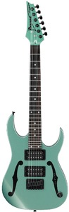 Ibanez PGMM21-MGN Artist Series Paul Gilbert Signature MiKro Electric Guitar (Metallic Light Green) - Cover
