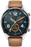 Huawei Watch GT Classic Smartwatch with Saddle Brown Leather Strap (Huawei Watch GT Classic B19V)