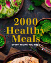 2000 Healthy Meals (Paperback)