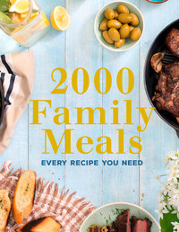 2000 Family Meals (Paperback) - Cover