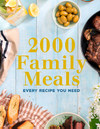 2000 Family Meals (Paperback)