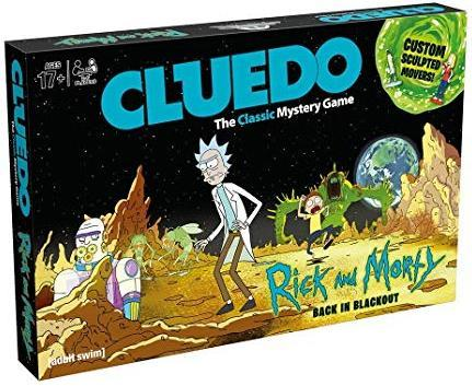Cluedo - Rick & Morty Edition (Board Game)