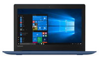 Lenovo IdeaPad S130 N4000 4GB RAM 64GB eMMc 11.6 Inch Notebook - Midnight Blue - Cover