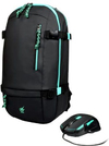 Port - Arokh Gaming Bundle Pack 1 - Inclues Green Backpack and a X-1 Mouse - Green