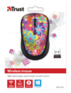 Trust - Yvi Wireless Mouse - Flower Power