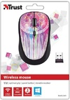 Trust - Yvi Wireless Mouse - Purple Dream Catcher