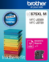 Brother LC675XLM Ink Cartridge - Magenta - High Yield