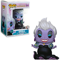 Funko Pop! Disney - Little Mermaid - Ursula with Eels Vinyl Figure - Cover