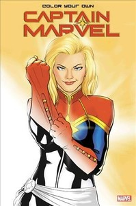 Color Your Own Captain Marvel - Marvel Comics (Paperback) - Cover