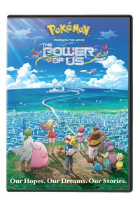 Pokemon the Movie: Power of Us (Region 1 DVD) - Cover