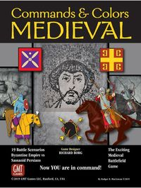 Commands & Colors: Medieval (Board Game) - Cover