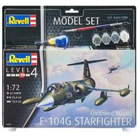 Revell - 1/72 - Lockheed Martin F-104G Starfighter (Plastic Model Kit)