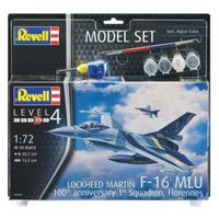 "Revell - 1/72 - F-16 Mlu ""100th Anniversary"" (Plastic Model Set)"