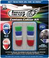 iMP Trigger Treadz TT Custom Colour Kit: 8 Pack Set for PS4 Controller