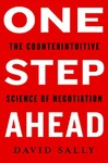 One Step Ahead - David Sally (Hardcover)