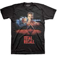 Studio Canal Total Recall Men's Black T-Shirt (Small)