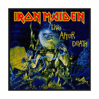 Iron Maiden Live After Death Retail Packaged Patch - Cover