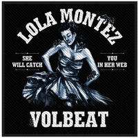 Volbeat Lola Montez Retail Packaged Patch