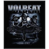 Volbeat Outlaw Raven Retail Packaged Patch
