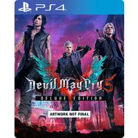 Devil May Cry 5 - Deluxe Steelbook Edition (PS4)