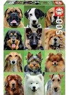 Educa - Dogs Collage Puzzle (500 Pieces)