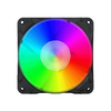 Redragon - 3 x RGB 120mm LED Full Colour Fan with Control Box and Remote