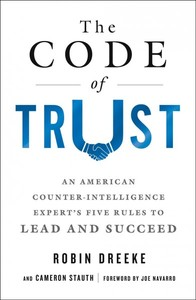 The Code Of Trust - Robin Dreeke (Paperback) - Cover