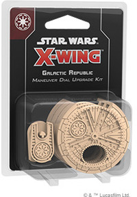 Star Wars: X-Wing Second Edition - Galactic Republic Maneuver Dial Upgrade Kit (Miniatures) - Cover