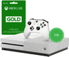 Microsoft - Xbox One S 1TB Console - Includes 3 Months Live (White)