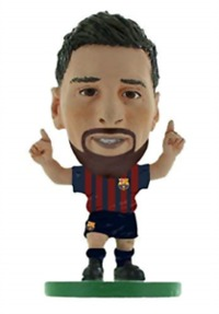 Soccerstarz - Barcelona Lionel Messi with beard- Home Kit (2019 version) Figures - Cover