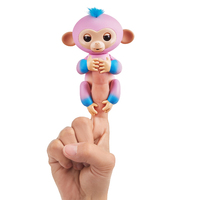Fingerlings - Baby Monkey Ombre - Pink & Blue Candi - Cover