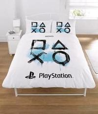 Sony Playstation - Panel Bed Duvet Quilt Cover Set (Double) - Cover