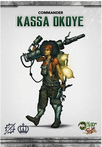 The Other Side - King's Empire: Kassa Okoye (Miniatures) - Cover